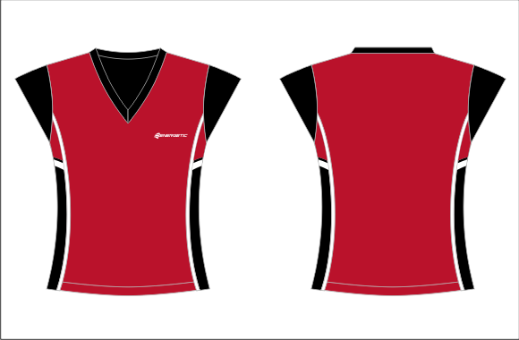 Netball Playing Tee – Elite Paneled