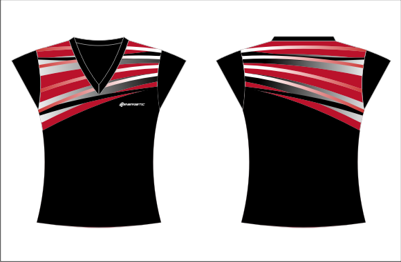 Netball Playing Tee – Hyper Elite Sublimated