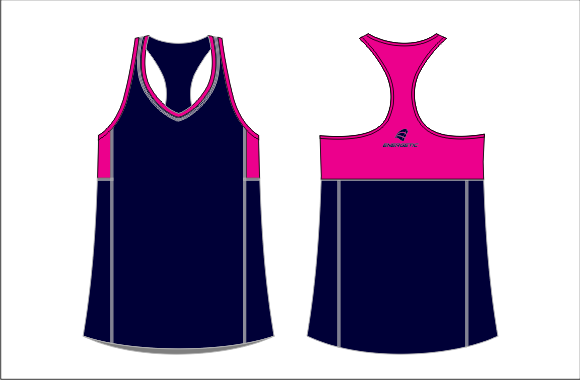 PANELLED ATHLETIC SINGLET