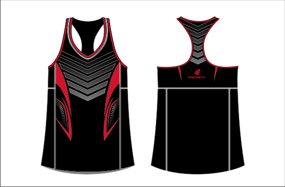 SUBLIMATED ATHLETIC SINGLET
